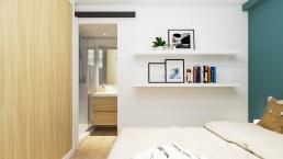 Visualización 3D - Reforma Córdoba - Dormitorio 1