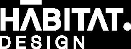 HABITATdesign logo blanco