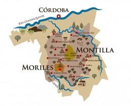 Mapa Montilla-Moriles