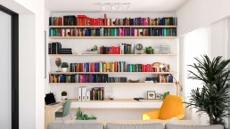 CARLOS Y MARLIES HOME - Interiorismo biblioteca