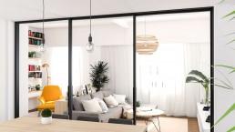 CARLOS Y MARLIES HOME - Interiorismo salón y lectura