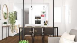CARLOS Y MARLIES HOME - Interiorismo comedor y cocina