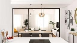 CARLOS Y MARLIES HOME - Interiorismo comedor y salón